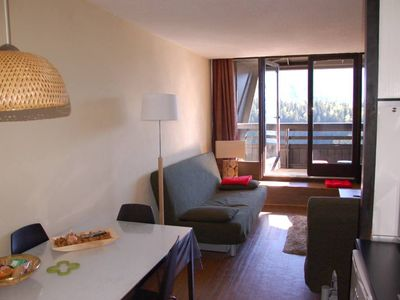 Photo for Gd studio 36m2, tt comfort, well equipped, balcony, ski in / ski out 2 to 9/3: 395E