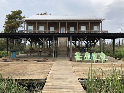 Photo for Modern River Camp Located in Akers,LA next to the Famous Sun Buns Bar and Grill