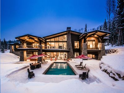 Photo for Alpine Sanctuary | Ski-in/Ski-out Estate | Private Pool & Hot Tub | Concierge Services