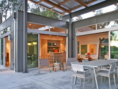 Photo for Wine Country Modernist Home Overlooking acres of Pinot and Chardonnay