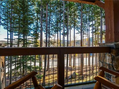 Photo for Cozy condo nestled in the Pines with easy access to hiking.