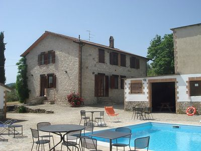 Photo for House in Monte Castello di Vibio with Internet, Pool, Garden, Washing machine (118851)