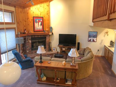 Photo for Cozy 4 Bedroom Townhome Across from Bretton Woods Ski Area