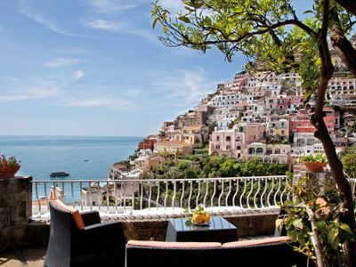 Photo for Downtown Positano With Stunning Views On The Sea And Town