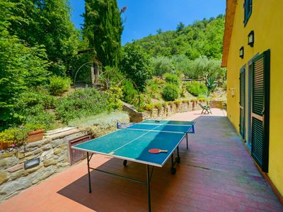 Photo for Nice apartment in villa for 6 people with pool, WIFI, TV, balcony, pets allowed and parking