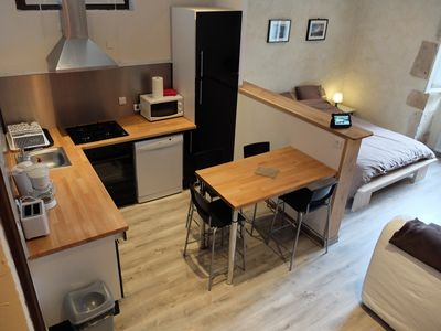 Photo for Holiday Rental Pau France - Appart In Pau - Apartment HONSET - 2/4 people
