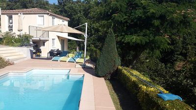 Photo for 2 rooms comfortable in independent building with pool and garden