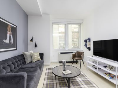 Photo for Sonder | Wall Street | Chic 1BR + Lounge