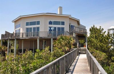 Photo for Enchanting Oceanfront Home with Wraparound Decks and Serene Ocean Views from Every Bedroom