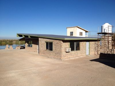 Photo for Riverfront House In Northern Baja