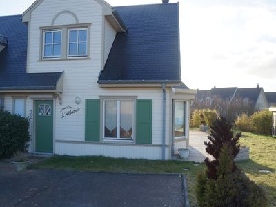 Photo for VILLA IN PRIVATE RESIDENCE IN THE HEART OF MASSIF DUNAIRE, 200M FROM THE BEACH