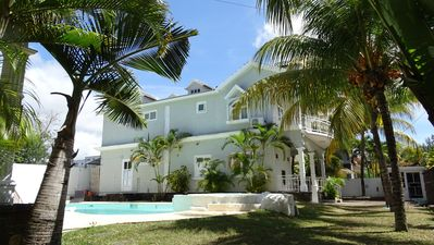 Photo for PRETTY VILLA IN A GREEN CASE 3 MIN FROM THE TROU AUX BICHES BEACH