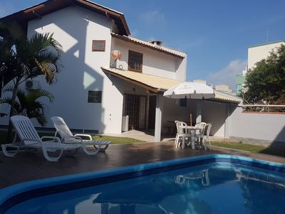 Photo for Villa with pool 03 bedrooms, 50 meters from Mariscal Beach