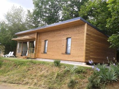 Photo for Camping Domaine du Surgié **** - Air Conditioned VIP Chalet 4 rooms 6 persons
