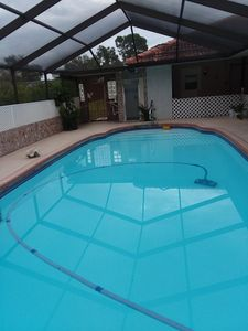 Photo for Furnished  home 3 bedrooms,indoor pool terrace, located in upscale development.