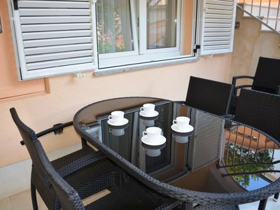 Photo for Relaxing and fun stay in the central apartment in Novalja
