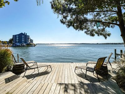 Photo for 6 Bedroom/3.5 Bath Direct Bayfront Home Near the Beach in Downtown Ocean City