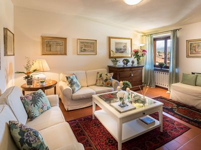 Photo for Central large apartment inside the walls of Lucca with elevator and WiFi