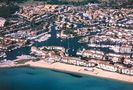 Aerial view showing the beach