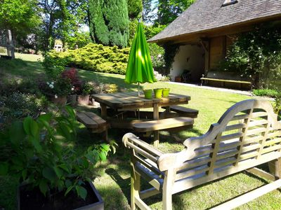 Photo for Charming house in a quiet environment av garden 3km from MORLAIX