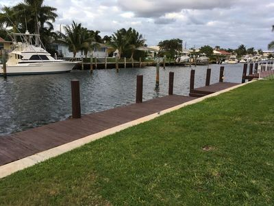 Photo for ***WATERFRONT***   ***DOCKAGE***  Bring Your Boat and Enjoy South Florida Living