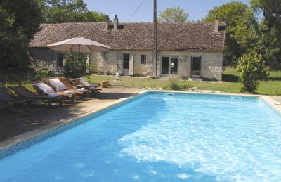 Photo for Private pool, large gardens & fireplace :: The best of the French country side