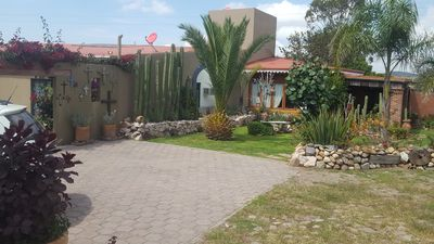 Photo for La Casita de las bugambilias, grandes jardines & petfriendly.
