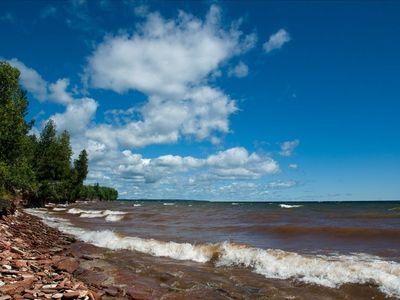 Photo for Lake Superior Cottage with Spectacular View