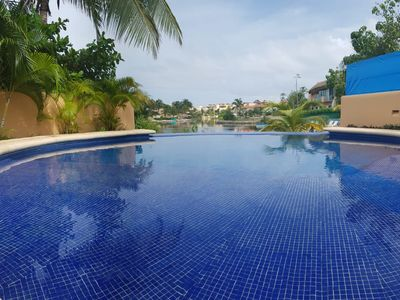 Photo for Condo Vacation rental for 6 people, Puerto Aventuras, Quintana Roo