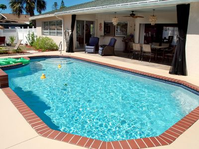 Photo for Newly Renovated Home For 6-8 With South-Facing Heated Pool
