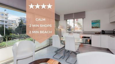 Photo for ✌ Cannes, 2 min from the beaches ✌ In the heart of Palm Beach.