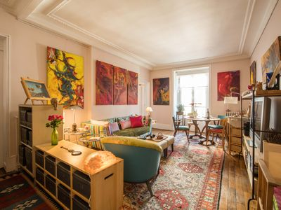 Discover Central Paris from an Artsy Private Apartment at Invalides Eiffel Tower
