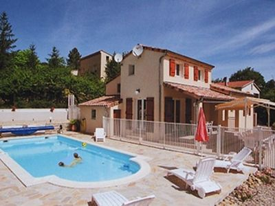 Photo for New villa with heated pool and very high comfort