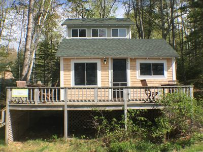 Rugosa Cottage! New, larger windows in the front, to enhance the view inside!