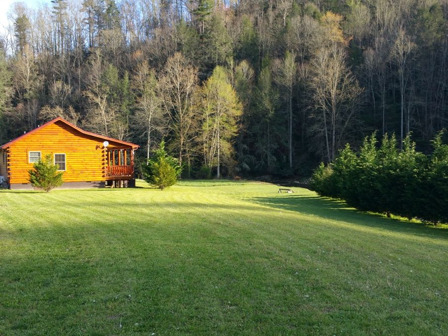 New riverfront cabin pure luxury marshall nc asheville for Biltmore cabins asheville nc