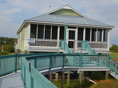 Photo for Ferry View-Beachfront Property on Pamlico Sound