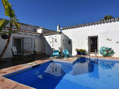 Photo for Nerja villa near the beach, sleeps 8, 4 bedrooms