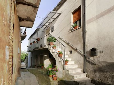 Photo for Family Friendly Apartment For Rent In Charming Italian Village
