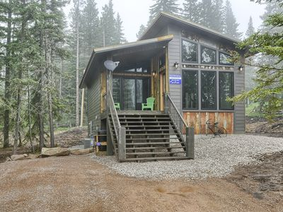Photo for New Venture Lodge - Brand New Cabin near Terry Peak! Hot tub, Foosball, A/C