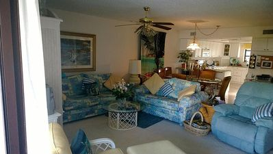 Photo for Private Beach-Large Pool-Walking Distance:Dining/Fishing/Golf