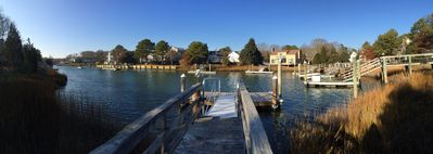 Photo for Custom Designed & Renovated  Island Waterfront  Ranch With Deepwater Dock