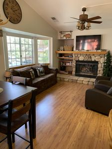 Photo for Sweet Bear Cabin Mountain Getaway w/King Bed and A/C