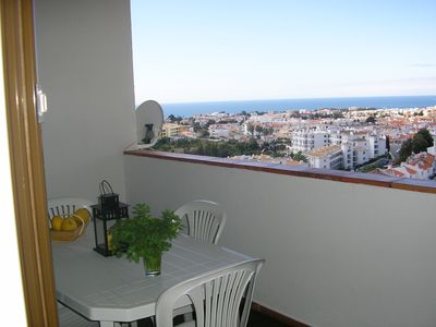 Photo for 10 ° FLOOR TERRACE SEA VIEW, CITY AND SWIMMING POOL