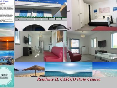 Photo for RESIDENCE IL CAICCO - Ketch Place (100 meters from the sea)