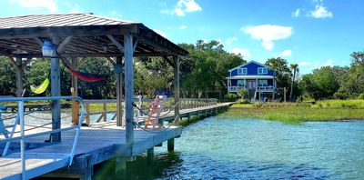 Photo for Goat Island home on the Intercoastal Waterway w/Dock...BOAT ACCESS ONLY!
