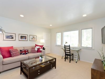 Photo for Pacific Palisades Charming 2 Bedroom Duplex Next to Palisades Village