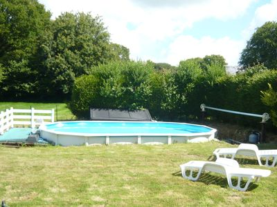 Photo for Peaceful Holiday Home in La Chapele Neuve with Swimming Pool