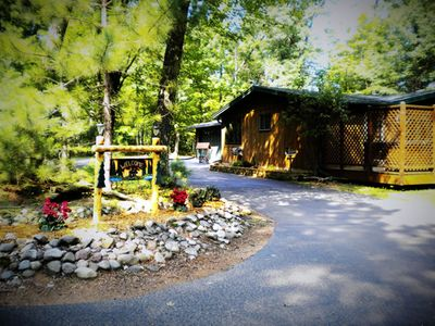 Photo for On Bike Trails, Private, vacation home on Lake content in St Germain
