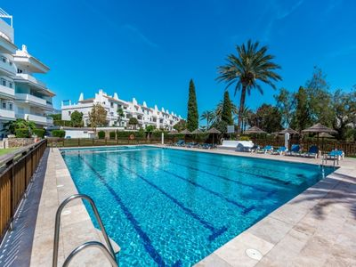 Photo for Nueva Andalucia Apartment, Sleeps 4 with Pool and Air Con