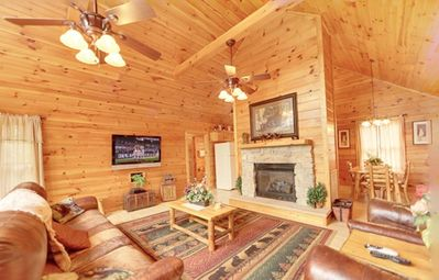 Photo for Love For Two- Minutes from Downtown Gatlinburg FIBER OPTIC INTERNET!